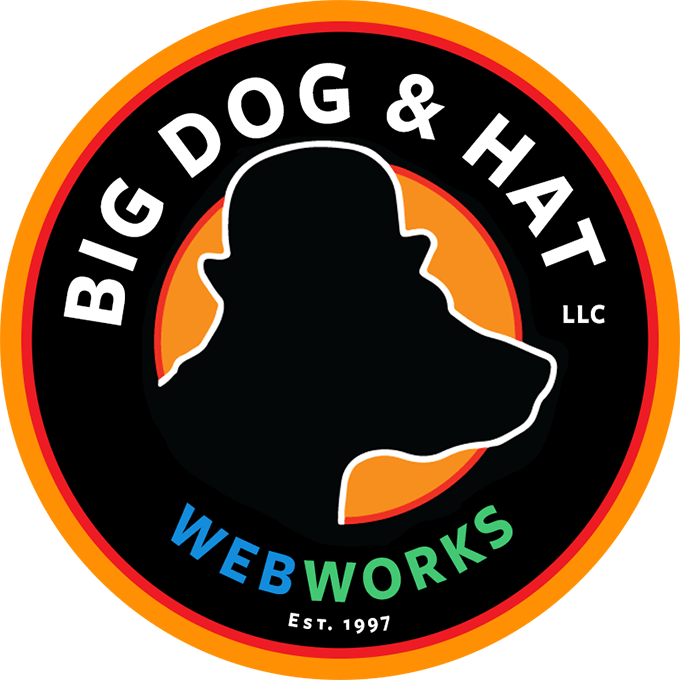 Big Dog & Hat logo
